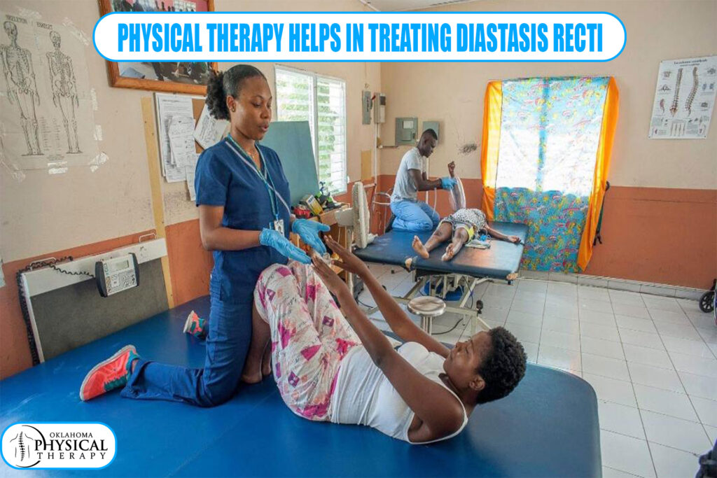 physical therapy helps in treating Diastasis Recti
